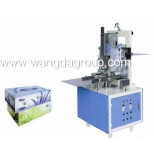 Quality Automatic Facial Tissue Carton Box Sealing Machine(WD-FT-CBSM2) for sale