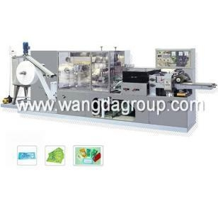 Quality Wet Tissue Machine with Full Automatic 1-2 Pieces Per Package (WD-WT-1-2P) for sale