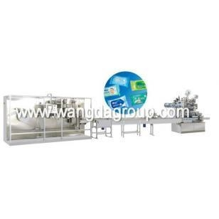 Quality Full Auto Wet Tissue Folding and Packing Machine (WD-WT-5-20P) for sale