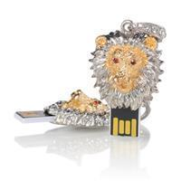 China Cool lion crystal usb stick+cwc-12-020 wholesale