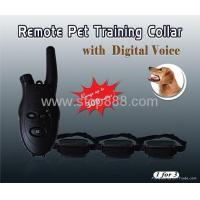 China JF-009 Remote collar pet training with Digital Voice JF-009 wholesale
