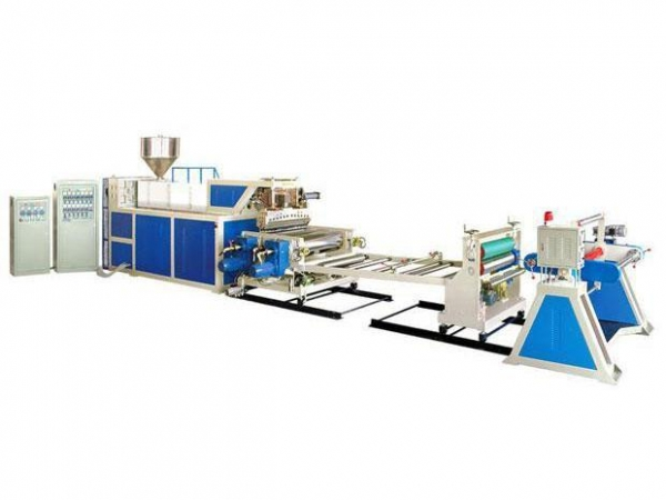 Flat Roller Plastic Sheet Extruding Machine Of 16410163
