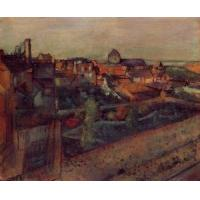 China Impressionist(3830) View_of_Saint-Valery-sur-Somme wholesale