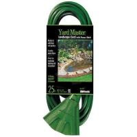 China Forest 984413 25-Feet Outside Extension Cord with 3-Outlet Power Block,Green-Extension Cords wholesale
