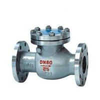 Buy cheap H44H/W swing check valve from wholesalers