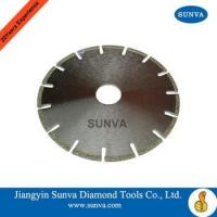 Buy cheap SUNVA Electroplated Diamond Coated Saw Blades / Diamond Tools from wholesalers