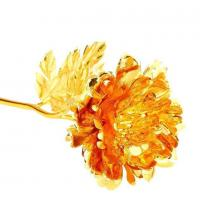 China 24 k gold foil peony wholesale