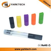 China Yarktech 0.5ml cartridge 510 cbd oil vape plastic cartridge clear empty tank atomizer thc vape on sale