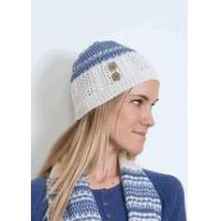 China Simply Noelle nordic hat winter cap black or seaglass wholesale