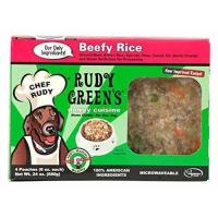 China Rudy Greens Doggy Cuisine 24 oz Beefy Rice Dog Food, One Size wholesale