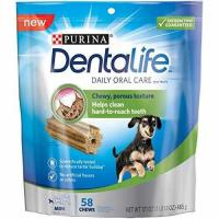 China Purina DentaLife Daily Oral Care Mini Adult Dog Treats - 1 17.1 oz., 58 ct. Pouch wholesale