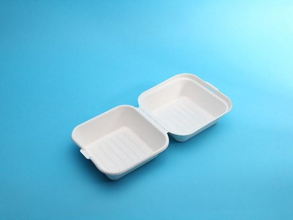 Quality eco friendly food packaging 6in clamshell for sale