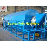 China PET PVC Material Recycling Machine PET Bottle Pre Washing Machine With Hot Water on sale