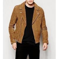 Buy cheap Men's Suede Biker Jacket from wholesalers