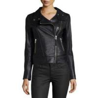 Buy cheap Women Biker Jacket With Front Zipper from wholesalers