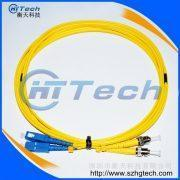 Buy cheap SC/UPC-ST/UPC Fiber Optic Patch Jumper from wholesalers
