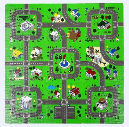 Quality new educational learning traffic city carpet toy kids play mats Admin Edit for sale