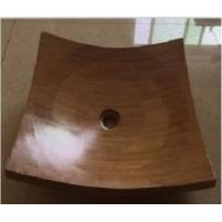 China The Kitchen Bamboo Sink,the Bathroom Bamboo Wash Basin wholesale