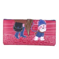 Buy cheap 58010 Girl with dog embossing print long purse from wholesalers