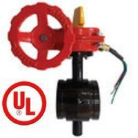 Buy cheap UL Grooved Butterfly Valve from wholesalers