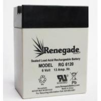 Buy cheap RG6120FP. - 6 Volt, 13 Amp SLA Battery w/recessed tabs from wholesalers