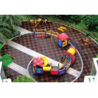 China Outdoor Park Equipment Rubber Flooring for Playground wholesale