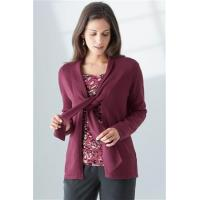 China front tie pure cotton cardigan (NTC) wholesale