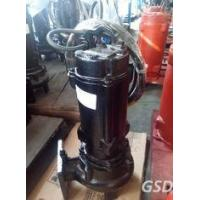 China Portable Submersible Non Clog Sewage Pump , Single Stage Stainless Steel Centrifugal Pump on sale
