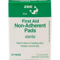 China First Aid Non-Adherent Pads, 1 1/2 x 2 - 12/box on sale