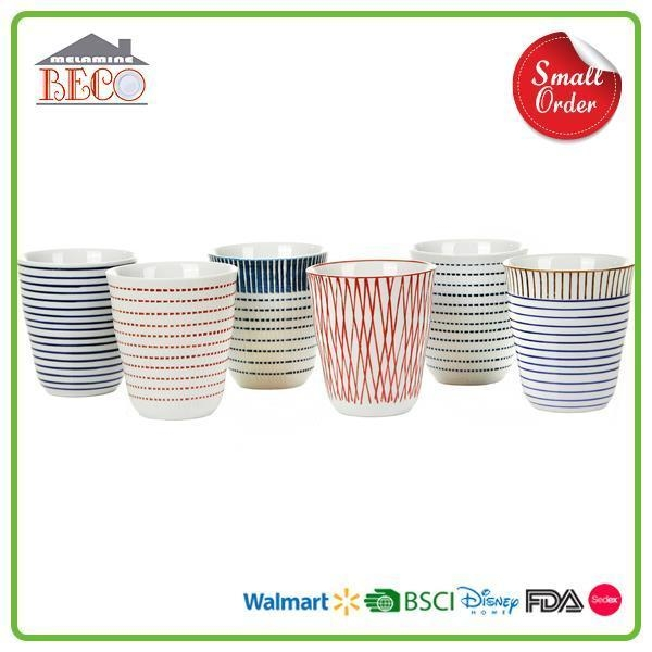 Designer Personalized Cheap Plastic Tea Cup Sets And