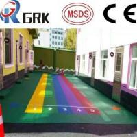 China EPDM floor OUTDOOR RUBBER FLOOR/CHILDREN PLAYGROUND POURED RUBBER FLOORING wholesale