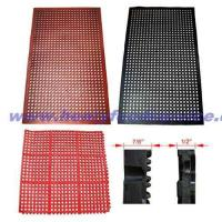 """China Rubber Floor Mats,Black Anti-Fatigue 3/8"""" Thickness, 3' x 5'(915x1525mm) wholesale"""