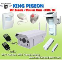 Buy cheap Wireless Outdoor WiFi Camera Alarm + GSM/3G from wholesalers