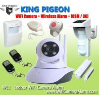 Buy cheap Indoor Wifi Camera Alarm + GSM /3G from wholesalers