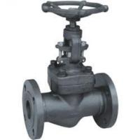 China Forged Steel Globe Valve, Screw End, ANSI B1.20.1 wholesale