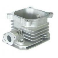 China Silver Oil Tank Aluminum Alloy Die Casting Services With Sand Blast wholesale