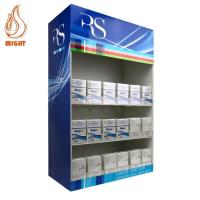 Buy cheap Display Stands Acrylic Counter Cigarette Dispenser with 4N pusher system from wholesalers