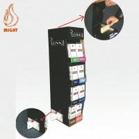 Buy cheap Display Stands Gravity Feeder Cigarette Display Rack with LED lights from wholesalers