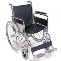 China #JL901 - Standard Manual Wheelchair With Detachable Armrests & Footrests And Pneumatic tiles wholesale