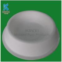 China Sugarcane Bagasse Pulp Molded Pet Feeder Trays on sale