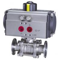 China Pneumatic Hoop End Float Ball Valve wholesale