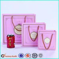China Luxury Gift Paper Bag With Handle Design wholesale