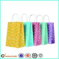 China Custom Paper Bag With Logo Print For Gifts wholesale