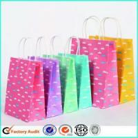 China Fancy Paper Gift Bags With Handle wholesale