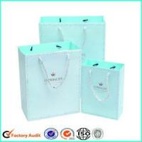 China Big Paper Gift Bags With Rope Handle wholesale