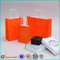 China Recycled Paper Bags With Logo For Gifts wholesale
