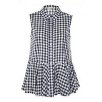 Buy cheap Love Gingham Frill Bottom Shirt from wholesalers