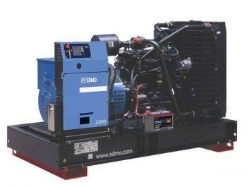 Quality DIESEL GENERATORS 200 KW JOHN DEERE Generator 250 KVA, Three phase, SDMO J200U II Open for sale