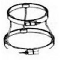 China Hoops (28) (6437a) 5/7/9 NO SLIP lap stand-NEW! on sale