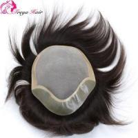 Non Surgical Men Hair Replacement,all Around the PU/mono Toupee for Men